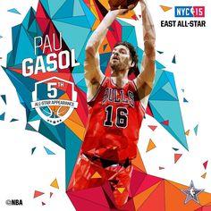 Pau Gasol - 2015 NBA All-Star