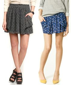 skirts with pockets are the only kind of skirts you want (http://thehairpin.com/2011/04/spring-fashion-roundups-2#more)