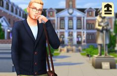lilsimsie faves — marvinsims: Shawl Collar Cardigans I love these...