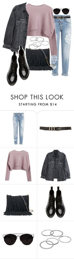 """""""Untitled #467"""" by el-khawla on Polyvore featuring Dsquared2, Maison Boinet, Chicnova Fashion, Y/Project, SONOMA Goods for Life, Dr. Martens, Apt. 9 and Cartier"""