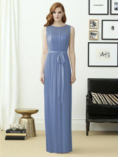 Dessy Collection Style 2963  Sample: Larkspur, size 12 $$$