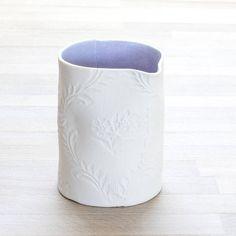 floral printed porcelain milk jug by penny spooner ceramics | notonthehighstreet.com