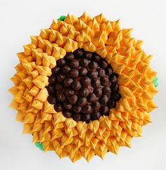 If you love sunflowers as much as I do you will definitely want to try this buttercream Sunflower Cake! To make this cake you will need: Chocolate cake Chocolate buttercream (I made 1/2 this recipe) Classic Buttercream (I made 1/2 this recipe) chocolate chip morsels – I used Nestle Dark Chocolate because they are slightly bigger than an...
