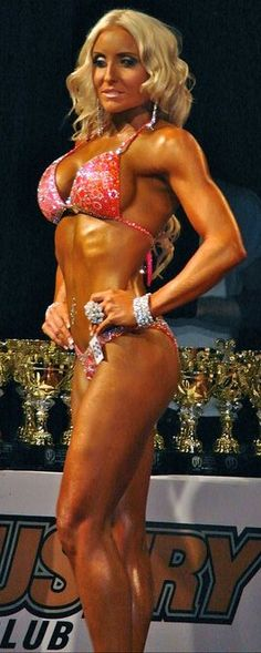 Love this bikini! Another amazing sports model competitor