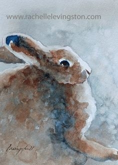 This sweet bunny print is soon to be featured in Pottery Barn Kids.