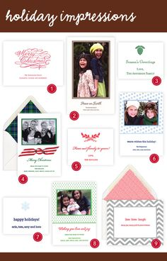 Holiday Impressions with Boatman Geller Letterpress #Paper #Holiday