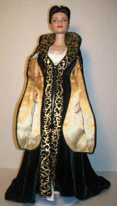 Pride & Vanity Ensemble  Tonner Doll 80.00  Franklin Mint Outfit  http://www.kisenohouse.com/Dolls/gone_with_the_wind.htm