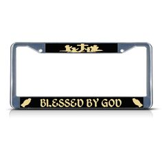 Coyote Hunter License Plate Frame Tag Holder