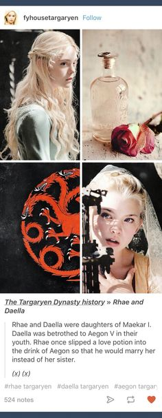 GoT; Daella Targaryen sister of Aegon V and Maester Aemon Game Of Thrones 1, A Dance With Dragons, Fire Book, Valar Morghulis, Fire And Ice, Music Tv, Winter Is Coming, Crows, I Fall In Love