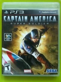 Captain America: Super Soldier for PlayStation 3 free shipping