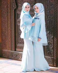 New Dress Hijab Party Muslim Beautiful Ideas Muslimah Wedding Dress, Muslim Wedding Dresses, Muslim Dress, Kebaya Muslim, Modern Hijab Fashion, Abaya Fashion, Muslim Fashion, Trendy Fashion, Hijab Dress Party