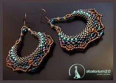 Really pretty boho style earrings