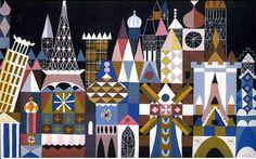 Marye Blair - Murales y decorados como It's a Small World. Fue un encargo de Walt Disney para una feria mundial en el 300 aniversario de la ciudad de Nueva York.