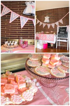 The everyday Soirée: A Pink and Gray Baby Shower