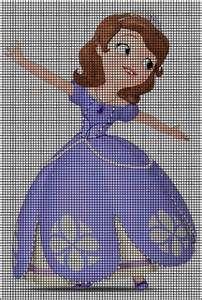 60 Ideas De Sofia Punto De Cruz Punto De Cruz Disney Puntos