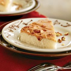 Blonde Texas Sheet Cake- This is the classic Texas sheet cake's Blonde sister! She has a Caramel-Pecan Frosting that will make you forget all about her chocolate counterpart