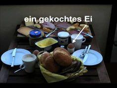 Die drei Hauptmahlzeiten in Deutschland - YouTube