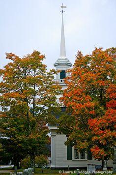 A Church in Lamoine, Maine. 2012