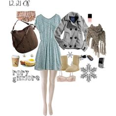 Rory Gilmore Outfit for 12-21-08 by rorygilmore on Polyvore featuring polyvore, moda, style, 3.1 Phillip Lim, American Eagle Outfitters, Gaspard Yurkievich, Honora, Dorothy Perkins, Manolo Blahnik and Market