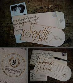 gorgeous wedding stationary