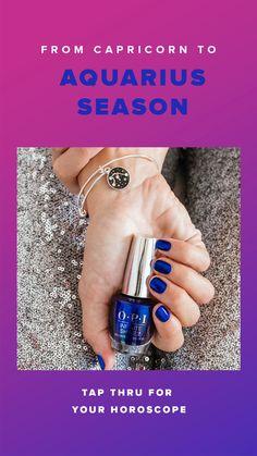 Spring Nails, Summer Nails, February Horoscope, Tongue Health, Aquarius Season, Opi Nails, Kiss Nails, Gel Manicure, Nails Short