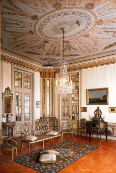 Queluz Palace , Saleta, Aposentos da Princesa D. Maria Francisca Benedita , Portugal