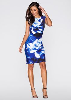 Jurk zwart gebloemd - BODYFLIRT nu in de onlineshop van bonprix.nl vanaf ? 32.99 bestellen. Betoverende jurk van jersey van het merk BODYFLIRT met spannende ...