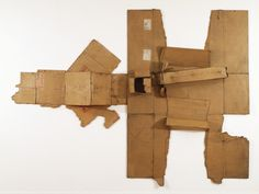 Robert Rauschenberg, 'Bande de Sureté / Twin City / Nipples (Cardboard)', 1971. Metropolitan Museum of Art, New York.
