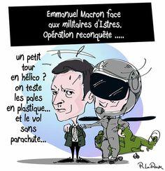 Ronan Leroux  (2017-07-21) France: Emmanuel Macron,  armée