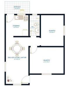 Planta de casas pequenas de dois andares modelo