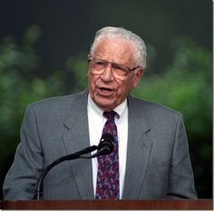 George Beverly Shea, Grammy Award winning bass-baritone gospel music singer and composer, serving with the Billy Graham Evangelistic Association for 60 plus decades. He is 102 years old......Awesome God!