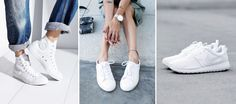 White sneakers: They are super comfortable, extremely popular and can be combined great. But the bright trend shoes have a catch … … Basket Adidas Stan Smith, I Love You Baby, Mode Style, Comfortable Shoes, Girly Things, Me Too Shoes, Fashion Shoes, Fashion Beauty, Cleaning