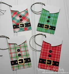 card tag christmas santa suit belt buckle perfectly plaid paper Lawn Fawn In My Creative Opinion: 25 Days of Christmas Tags - Day 21