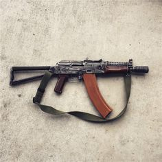AKS-74U The much shorter variant of the AKS-74, the 74U is one of the more popular AK builds but requires NFA paperwork since it is a Short Barreled Rifle. There is much debate as to where it's nickname, the Krinkov, originated. One of the first theories was that the Mujahadeen had captured a Soviet officer with the name Krinkov who was carrying the 74U and the name became synonymous with the gun.