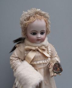 Lovely Antique Purse for French Fashion Doll