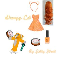 Stampy Cat by jellypixel on Polyvore featuring Topshop and Beta Fashion