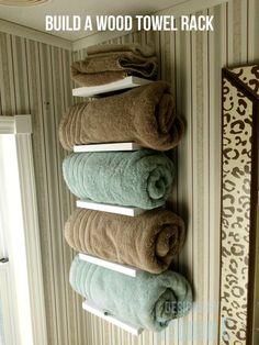 free furniture plans build wood towel rack SANY2851