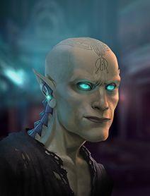 Male Elf Shadowrunners  Portraits from Shadowrun Returns and Shadowrun Dragonfall. Shadowrun Portrait Posts