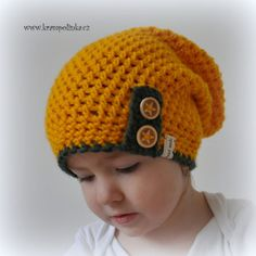 Crochet Kids Hats, Knit Crochet, Crochet Things, Caps Hats, Headpiece, Diy And Crafts, Beanie, Ford, Knitting