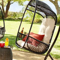 Our Swingasan® is perfect for the Dad who likes to hang out in the backyard.