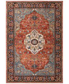 """Karastan Spice Market Petra Multi 5'3"""" x 7'10"""" Area Rug"""