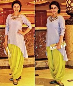Tisca Chopra glowing in this Payal Singhal suit #TiscaChopra  #PayalSinghal #DesignerOutfitsOnline #GetTheLook #Stage3