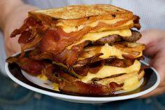 The Bacon Hamburger Fatty Melt