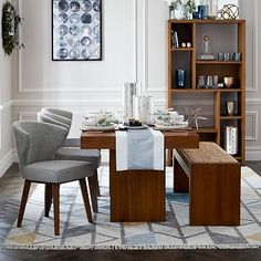 Terra Dining Table #westelm