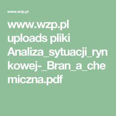 www.wzp.pl uploads pliki Analiza_sytuacji_rynkowej-_Bran_a_chemiczna.pdf