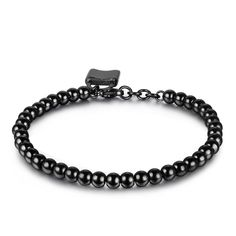 316L Stainless Steel Charm Starter Ball Beads Bracelet Girls Women ** Don't get left behind, see this great jewelry : Jewelry