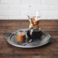 Pour-over coffee is really the only way to start the day.