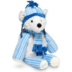 Pooki the Polar Bear Scentsy Buddy    Warm, white, and oh-so-fluffy, Pooki is the perfect companion on a blustery winter day. Place a Scent Pak in this Buddy's zippered pocket and bring him to life with scrumptious Scentsy fragrance.