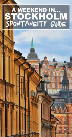 Stockholm does not need to cost a bomb. Planning a last minute trip to Sweden? Heres a handy guide to get you set to visit Stockholm! Travel Around Europe, Europe Travel Guide, Europe Destinations, North Europe, Travelling Europe, Budget Travel, Travel Guides, Traveling, Sweden Holidays