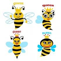 Queen Bee SVG Cuttable Designs